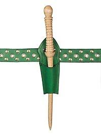 Zauberstabholster grün