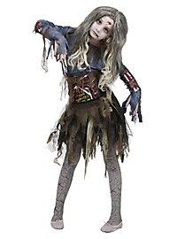 Zombie Ballerina Kinderkostüm
