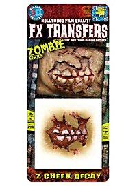 Zombie Cheek Decay 3D FX Transfers
