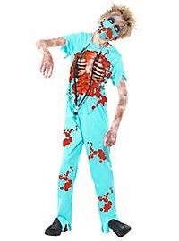Zombie Chirurg Kinderkostüm