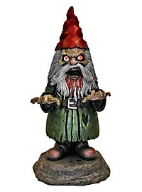 Zombie Garden Gnome Animated Halloween Decoration