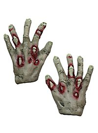 Zombie Hands for Kids green