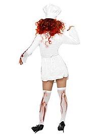 Zombie Köchin Kostüm