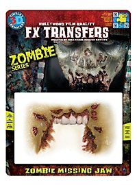 Zombie Missing Jaw 3D FX Transfers