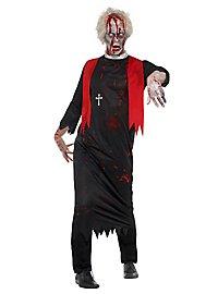 Zombie Pfarrer Kostüm