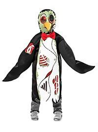 Zombie Pinguin Kinderkostüm