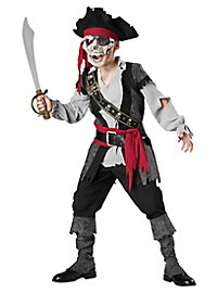 Zombie pirate kid's costume
