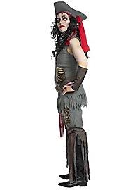 Zombie Piratin Kostüm