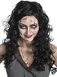 Zombie Piratin Perücke