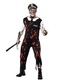 Zombie Polizist Kostüm