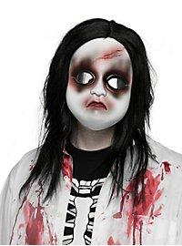 Zombie Puppe Halbmaske