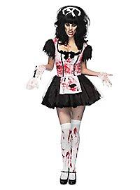 Zombie Putzfrau Kostüm