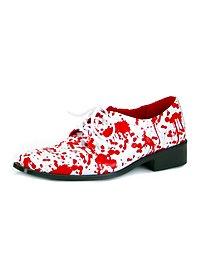 Zombie Schuhe weiß