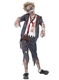 Zombie Schuljunge Kinderkostüm