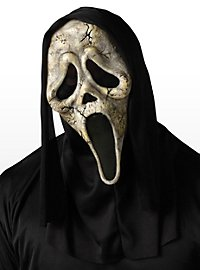 Zombie Scream Maske aus Latex