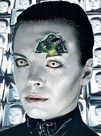 Weiße Kontaktlinsen Zombie