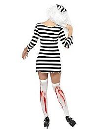 Zombie Sträfling Kostüm