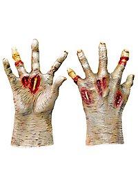 Zombiehände hell