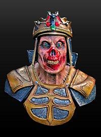 Zombiekönig Schulterpanzer aus Latex