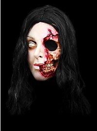 Zombiene Maske aus Latex