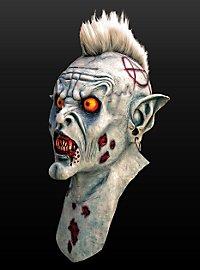 Zombiepunk Maske aus Latex