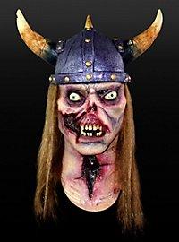 Zombiewikinger Maske aus Latex