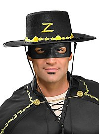 Zorro Hut & Maske Accessorie Set