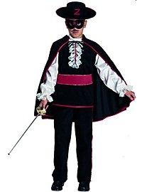 Zorro Kostüm für Kinder