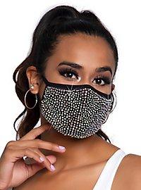 Zuri Mundschutz Maske mit Strass