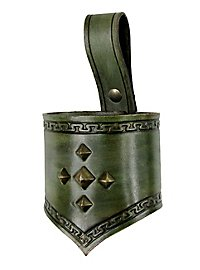 Zwergen Schwerthalter dunkelgrün