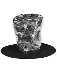 Zylinder mit Spinnennetz