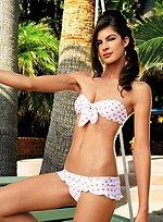 50s Bustier-Bikini